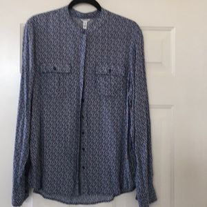 Blouse.  Good condition.  Gentle cycle/Hung dry.